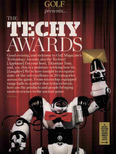GOLF Magazine Awards SensoGlove with the 2013 Techy Award!