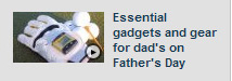 "Fox-TV on SensoGlove in ""Essential gadgets and gear for dads on Father's Day"" by Meg Baker"