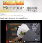 """Salut Bonjour! TV Show in Quebec Features SensoGlove """"Pour le Golf""""!"""
