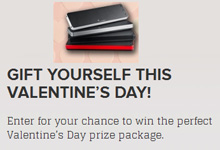 "Queen Latifah Show on Valentine's Gifts Giveaways with Soundmatters DASH7: ""Gift Yourself This Valentine�s Day!  Enter for your chance to win the perfect Valentine�s Day prize package"""