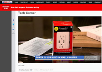 CBS-TV �Great Day Houston� Tech Corner on Thomas PR Clients� NewerTech & Impecca by Doug Delony!