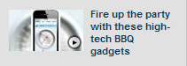 "Fox-TV on iGrill & foxL in ""Fire up the party with these high-tech BBQ gadgets"" by Meg Baker"