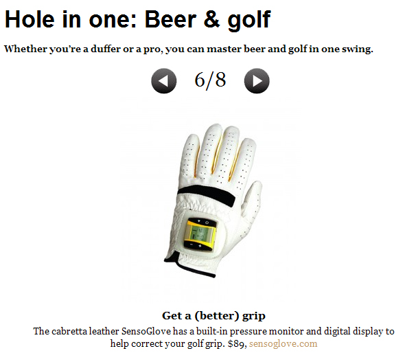 Draft Magazine Features SensoGlove Digital Golf Glove and GoSmart Clip!