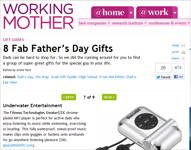 "Working Mother Magazine Features Thomas PR Client SensoGlove  in ""8 Fab Father's Day Gifts"" ""SensoGlove can help improve every part of a golfer dad�s game"""