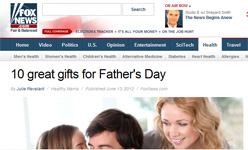"Fox News ""10 Great Gifts for Father's Day"" Features Thomas PR Clients SensoGlove and iGrill by Julie Revelant!  ""Got a golfer? The SensoGlove Digital Golf Glove is for golf enthusiasts of all levels…The iGrill Bluetooth Meat Thermometer is ideal for the grill master dad who also loves his tech toys."""