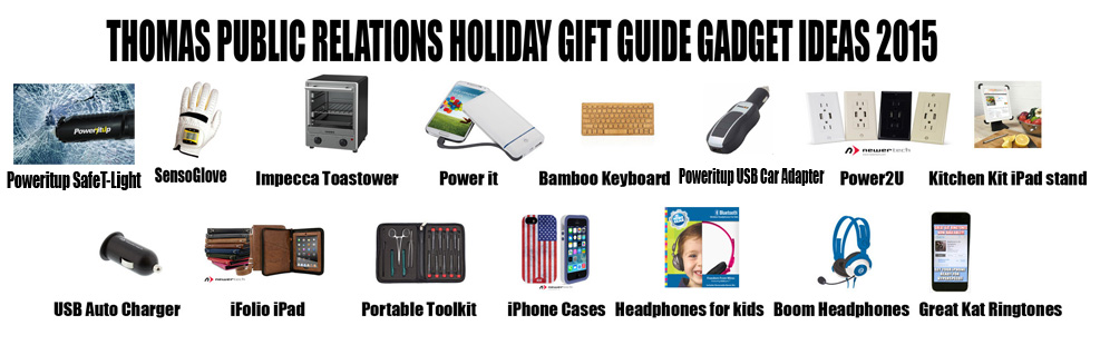 THOMAS PR HOLIDAY GIFT GUIDE GADGET IDEAS 2015