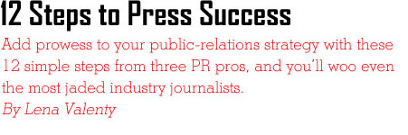 "Exhibitor Magazine ""12 Steps to Press Success"" Features Interview on Karen Thomas, Thomas Public Relations! ""Use social media to not only build relationships with your current clients and prospects, but also with journalists,"" Thomas says. ""By having a social-media presence, you are increasing your company's exposure, thereby increasing the chance that members of the press will catch wind of your company's plans for the show."" - Karen Thomas, Thomas Public Relations in Exhibitor Magazine"