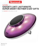 Thomas PR Client Yantouch EyE in Newsweek.com �Gadget Lust: Last-Minute, Super-Smart Mother�s Day Gifts� by David Weiss