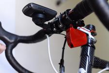 Velocomp PowerPod on Bike